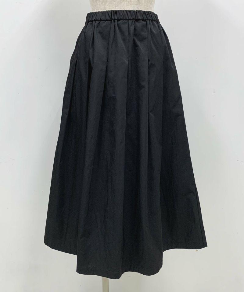 着用トルソーサイズ:B80, W60, H86 (Mサイズ着用)ブラック 前