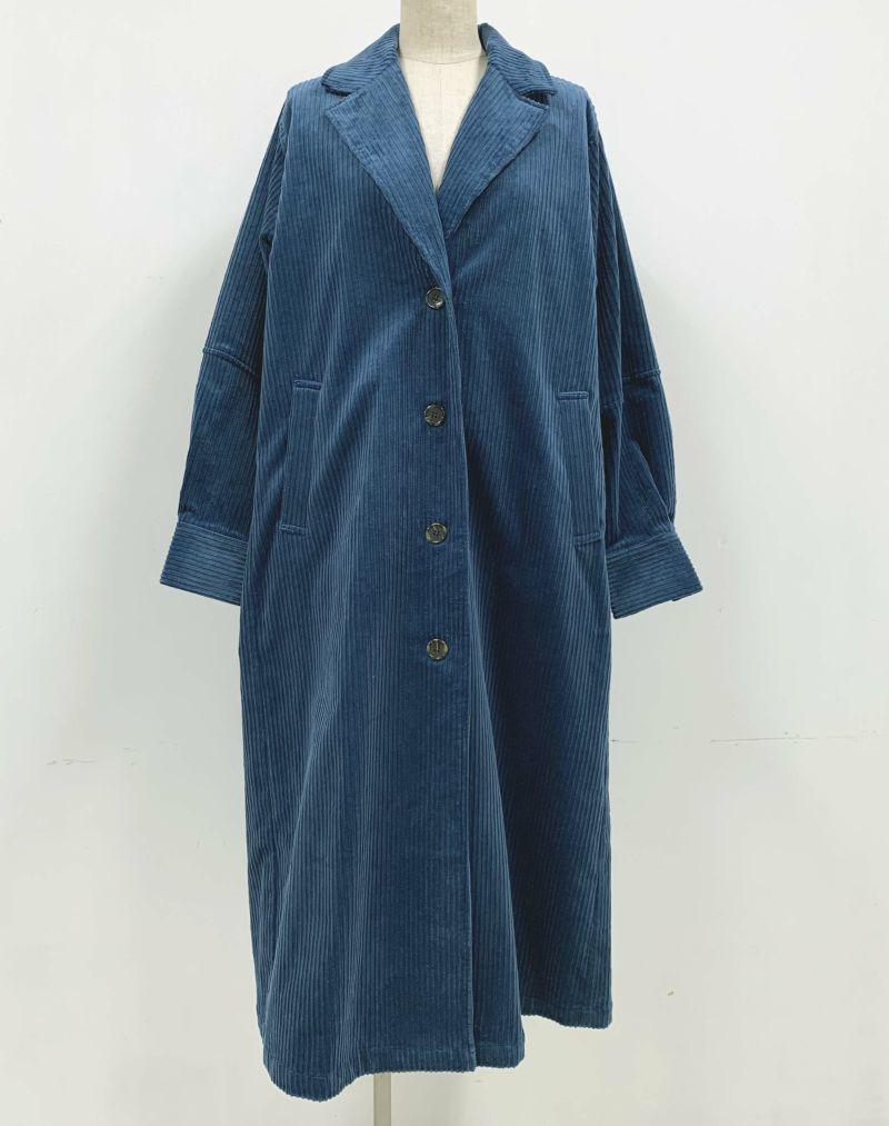 着用トルソーサイズ:B80, W60, H86 (Mサイズ着用)ブルー