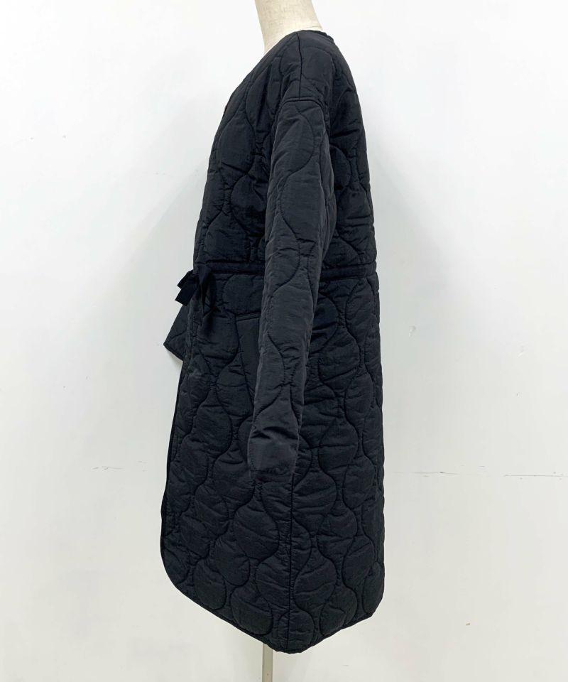 着用トルソーサイズ:B80, 着用トルソーサイズ:B80, W60, H86 (Mサイズ着用)横W60, H86 (Mサイズ着用)ブラック 前