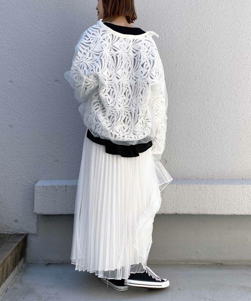 model:164 着用サイズM ホワイト