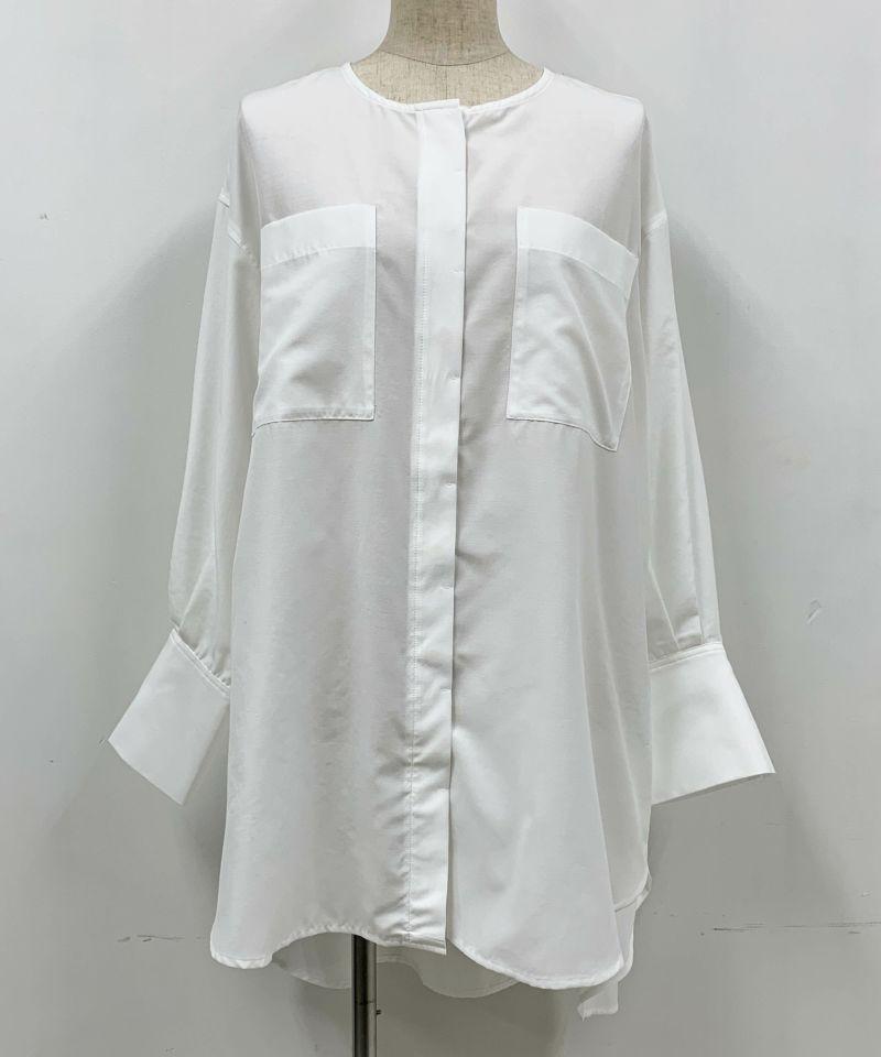 着用トルソーサイズ:B80, W60, H86 (Mサイズ着用)ホワイト