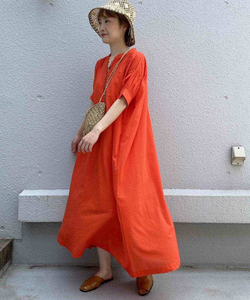 model:H164 着用サイズ:M オレンジ
