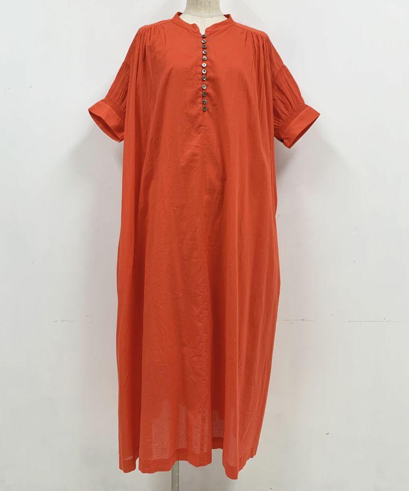 着用トルソーサイズ:B80, W60, H86 (Mサイズ着用)オレンジ 前