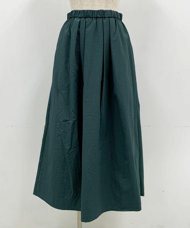 着用トルソーサイズ:B80, W60, H86 (Mサイズ着用)グリーン