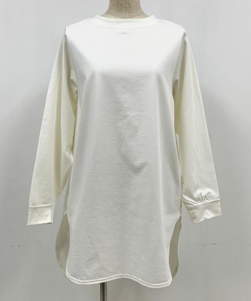 着用トルソーサイズ:B80, W60, H86 (Mサイズ着用)オフホワイト