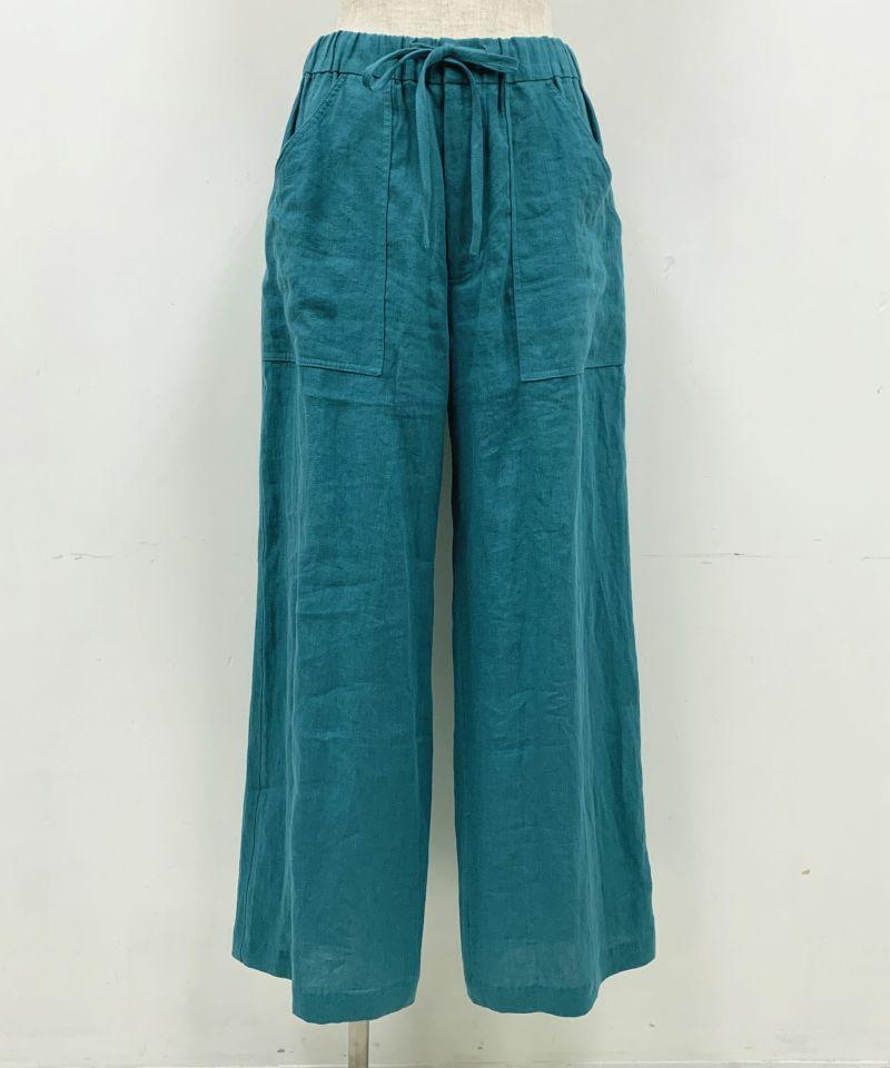着用トルソーサイズ:B80, W60, H86 (Mサイズ着用)ターコイズブルー