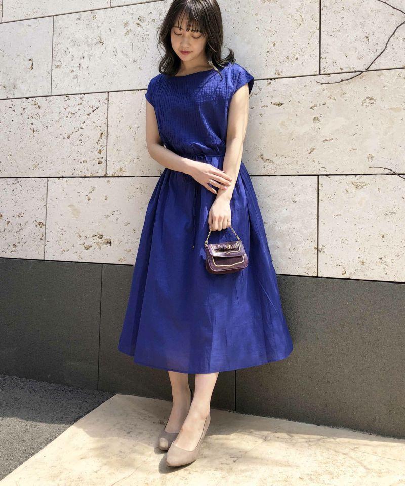 model:H156 着用サイズ:M ブルー