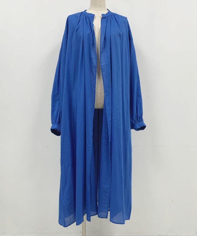 着用トルソーサイズ:B80, W60, H86 (Mサイズ着用)ブルー 前