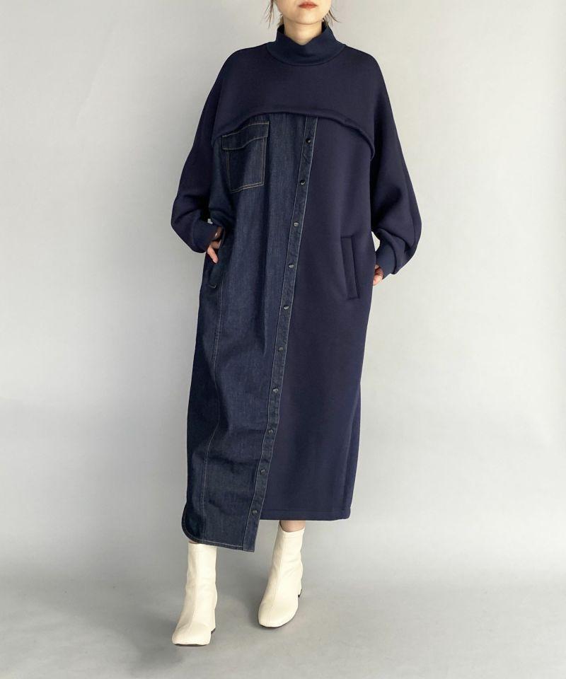 model:H164 着用サイズ:M ブルー系その他