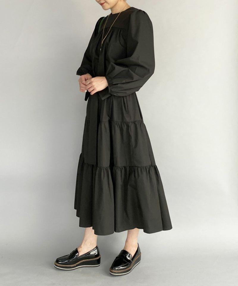 model:H164 着用サイズ:M ブラック リボン付き