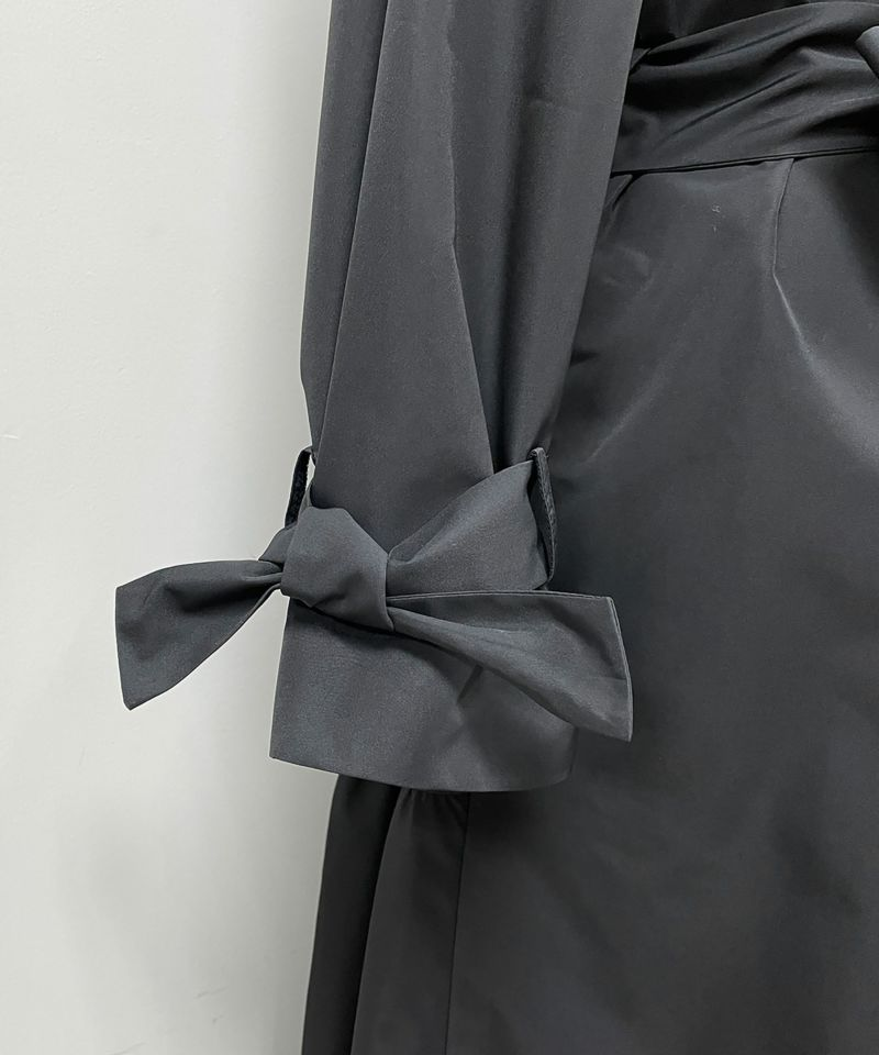 袖口リボン